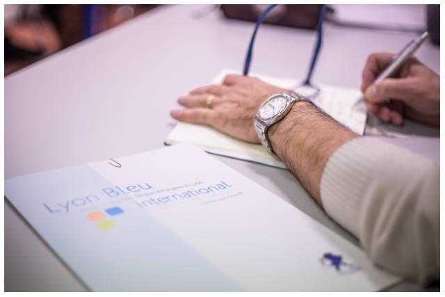 Lyon-Bleu Cours de français professionnel business