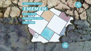 Expo du street-artist Emenem @ Taverne Gutenberg