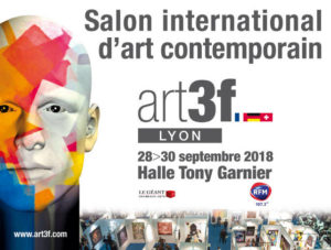 Art3f : Salon international d'art contemporain @ La Halle Tony Garnier