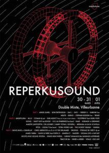 Festival musique électronique Reperkusound @ Double Mixte