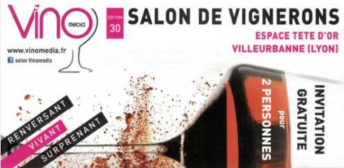 Salon vinomedia vins lyon bleu international cours for Salon du vin lyon