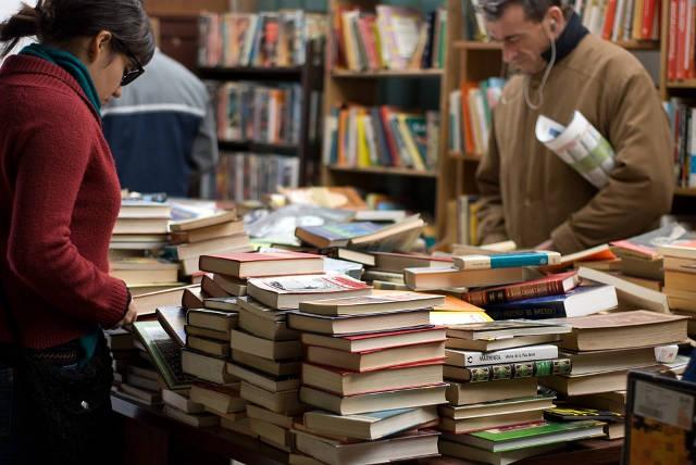 marché livres bouquinistes