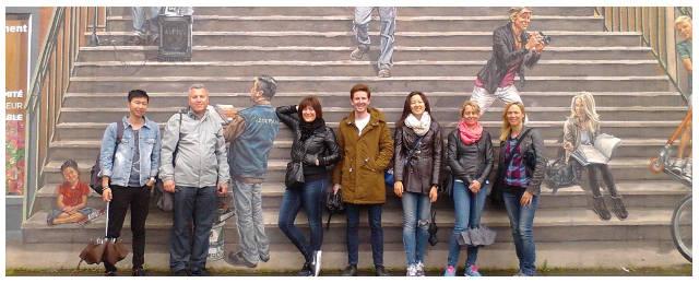 Lyon-Bleu cours de français avec expérience culturelle à Lyon