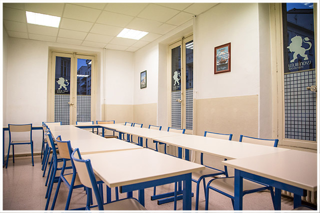 Salle de cours Lyon Bleu