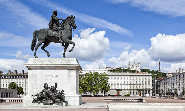Statut Louis XIV Bellecour