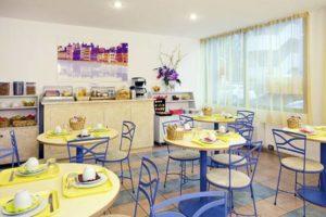 Salle petit déjeuner Lyon Bleu