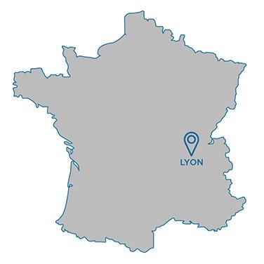 Emplacement Lyon Bleu