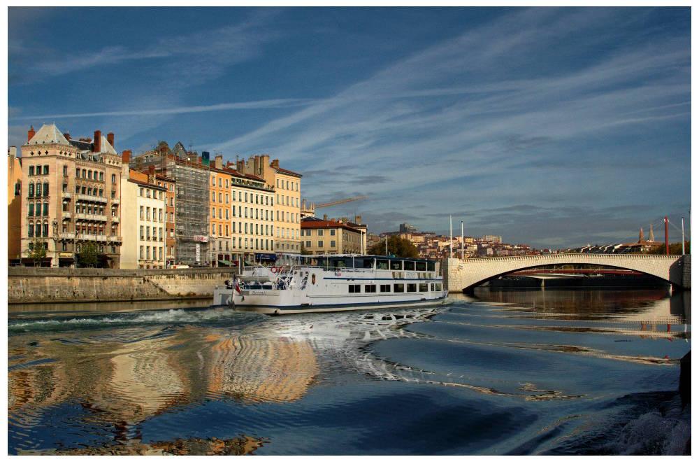 Ballade sur la Saône
