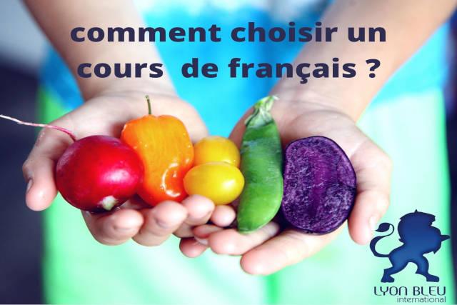 comment choisir un cours de français